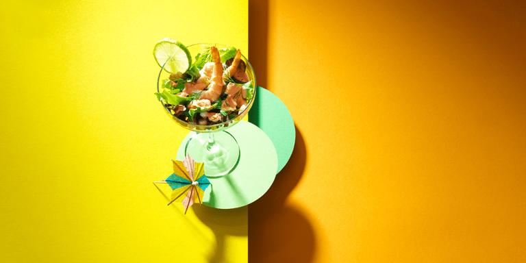 Light prawn cocktail