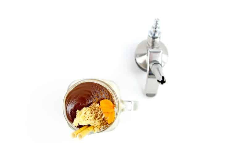 dalgona coffee foam